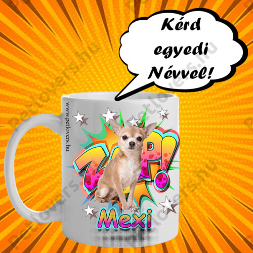 Chihuahua bögre - comic
