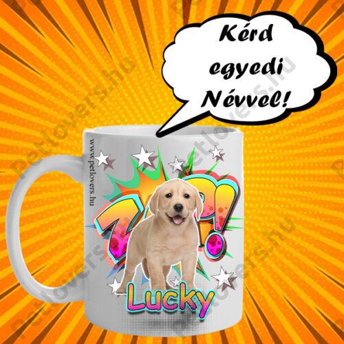 Labrador bögre - comic