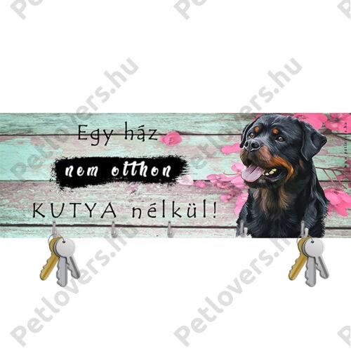 Rottweiler fali kulcstartó 2