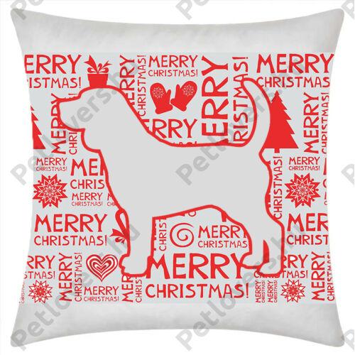 Beagle mintás karácsonyi párna