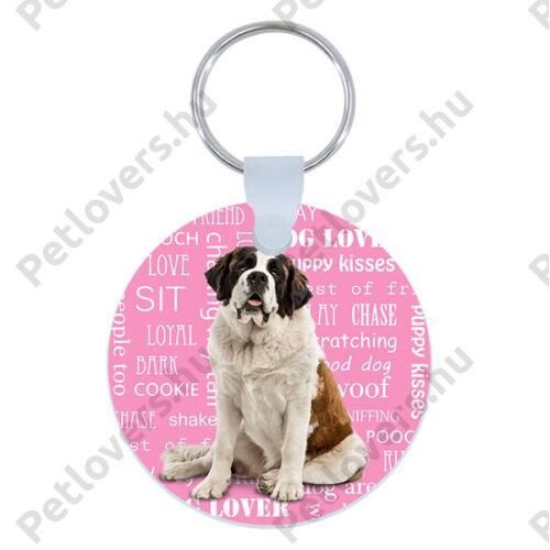 Bernáthegyi kulcstartó - rózsaszín