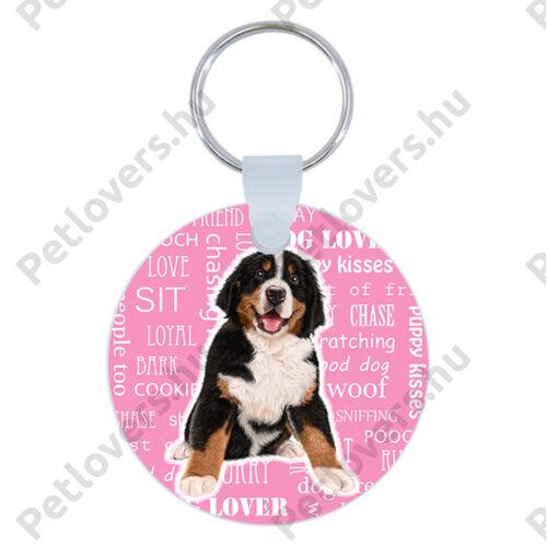Berni Pásztor kulcstartó - rózsaszín