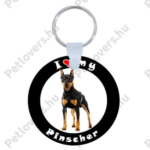 Pinscher kulcstartó