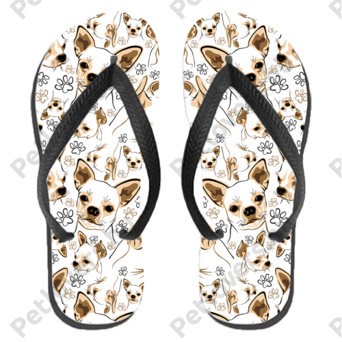 Chihuahua papucs (flip flop)