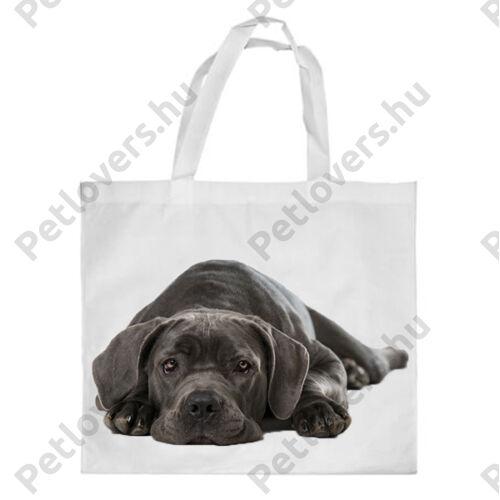 Cane Corso mintás bevásárló táska - puppy