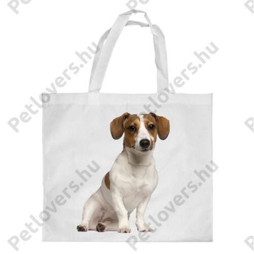 Jack Russell Terrier mintás bevásárló táska