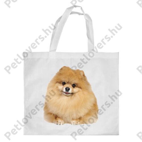 Spitz mintás bevásárló táska