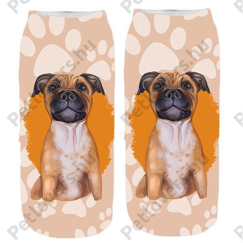 Amstaff mintás zokni - paint