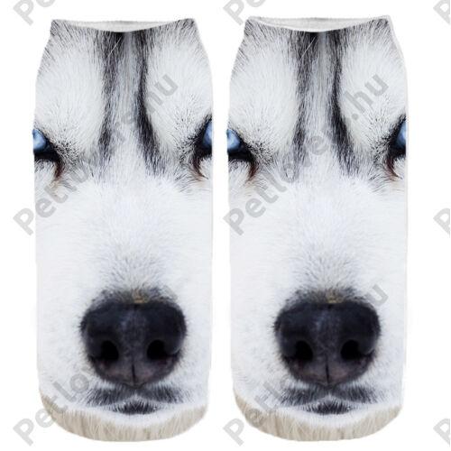 Husky zokni - fej
