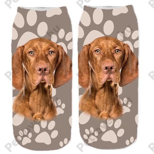 Vizsla mintás zokni - mancsos