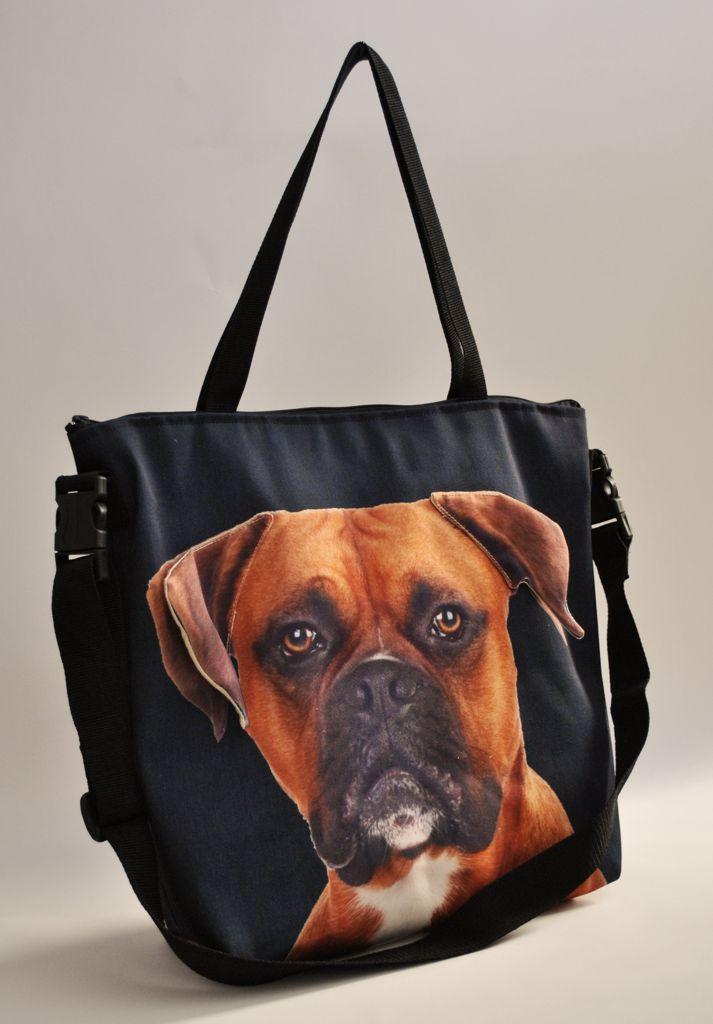 fea9e67ed411 3D Boxer mintás laptop táska - Kutyás laptop táska - Egyedi kutyás, macskás  ajándékok állatimádóknak